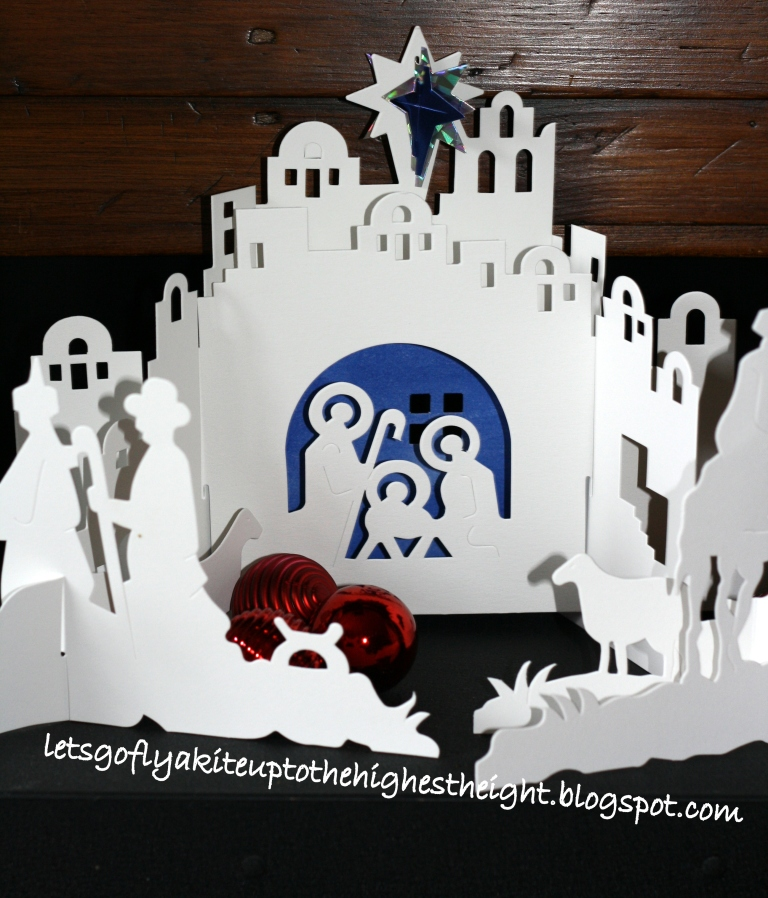 Nativity Template To Cut Out And this paper cut