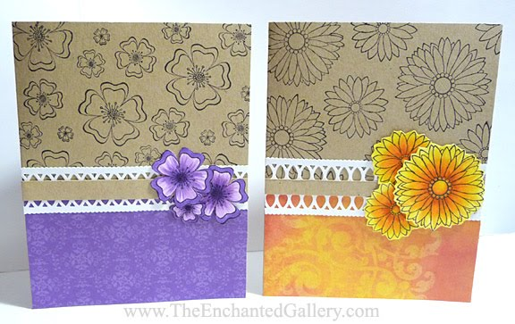 The Enchanted Gallery: Orchid and Other Flowers Card ...