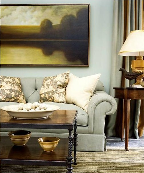 Residential Interior Design   Traditional Family Room. By David Mitchell
