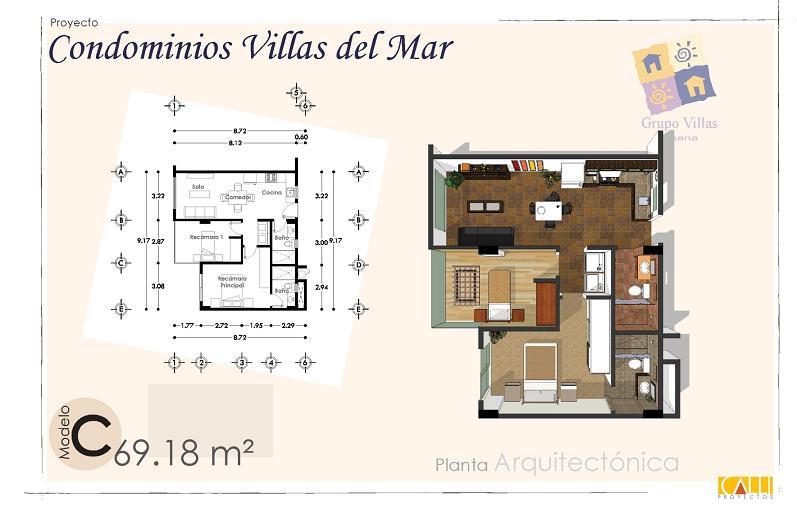 Tijuana real estate baja mx villas del mar ocean front view for Mar villa modelo