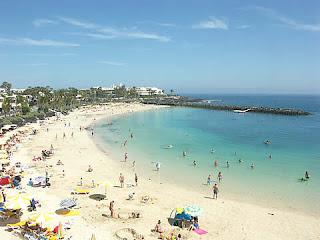 Familieferie i Playa Blanca