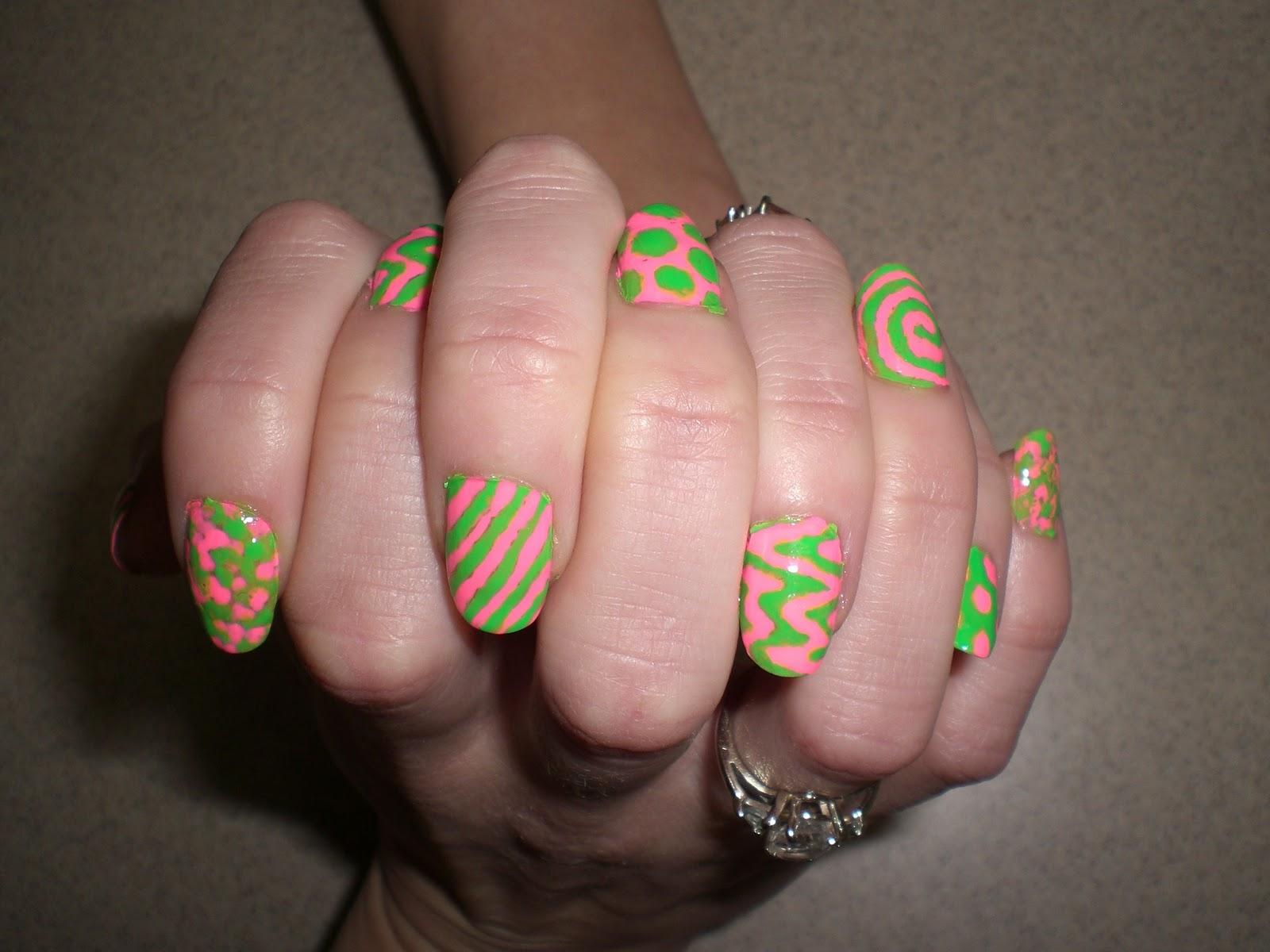 Ashleynicole Nail Designs Funky Fab Diy
