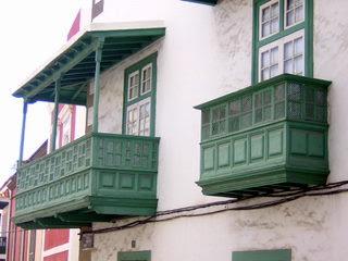 balcón en Las Palmas de Gran Canaria