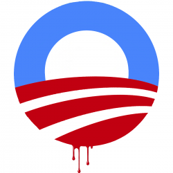 [obama+dripping+blood]