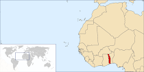 Aqui está o Togo