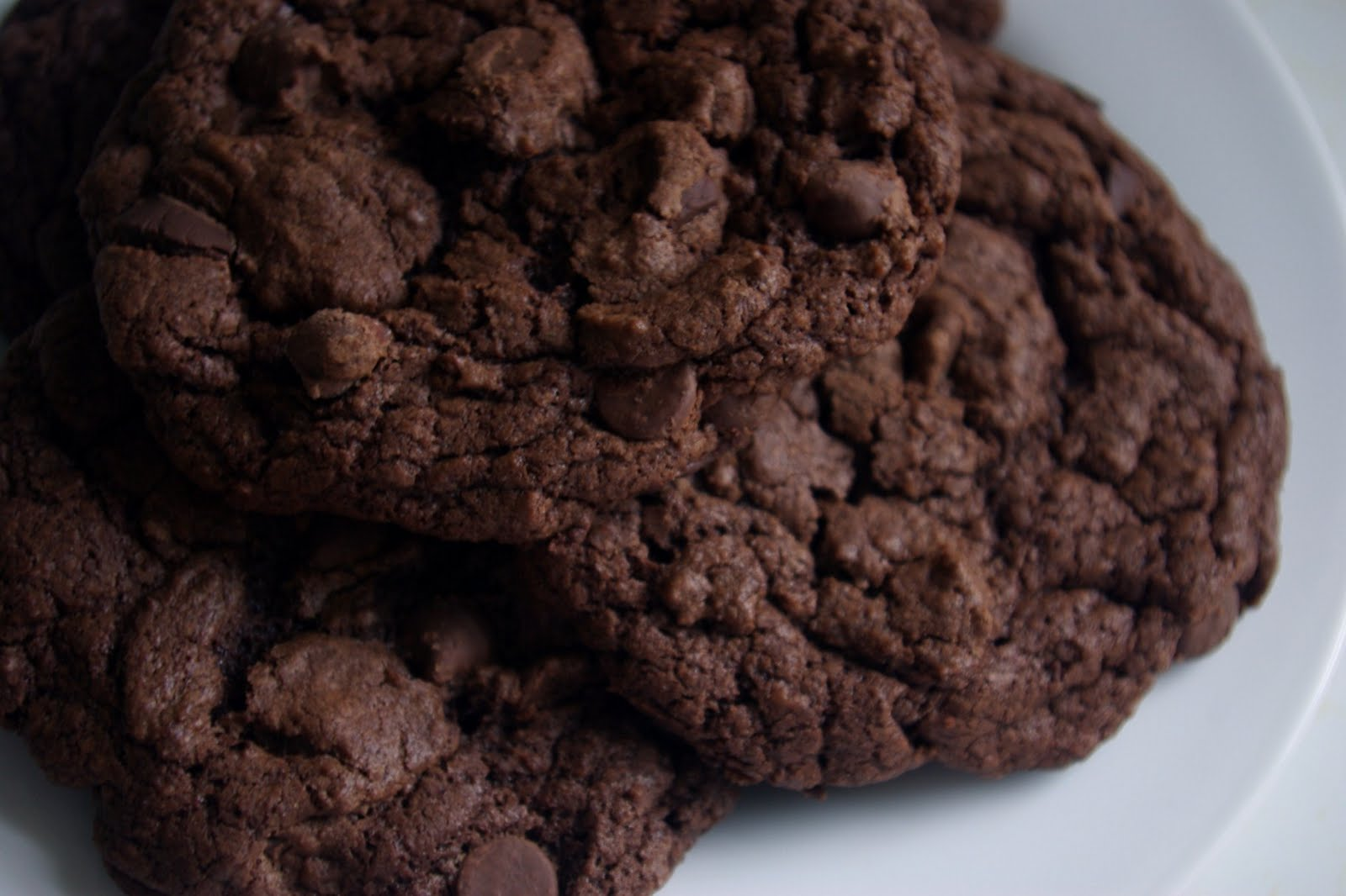 Double Chocolate Chunk Cookies Recipe — Dishmaps