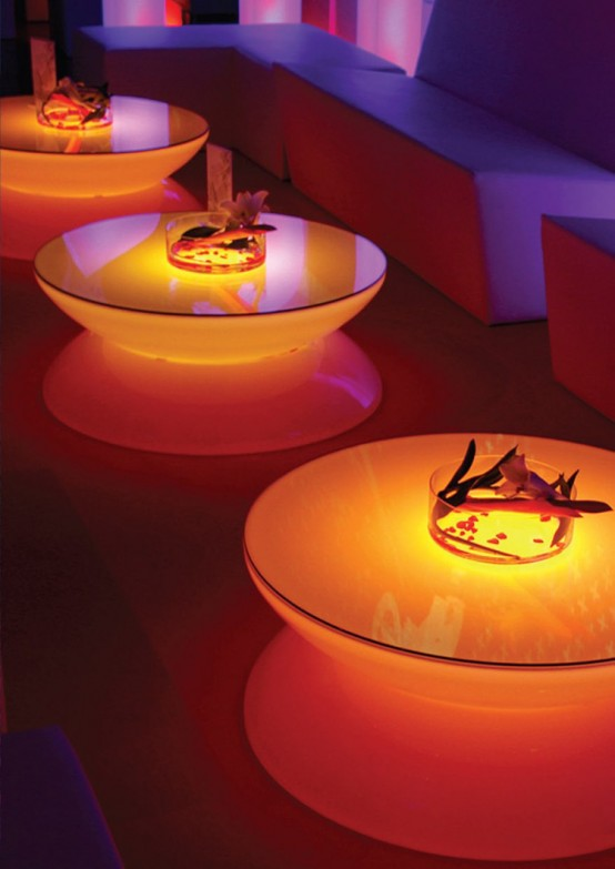 Cool LED Lounge Table