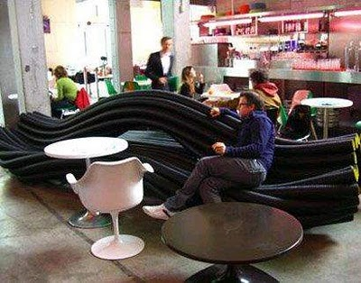 Electric Cable Shaped Furniture