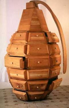 Bomb Shaped Furniture