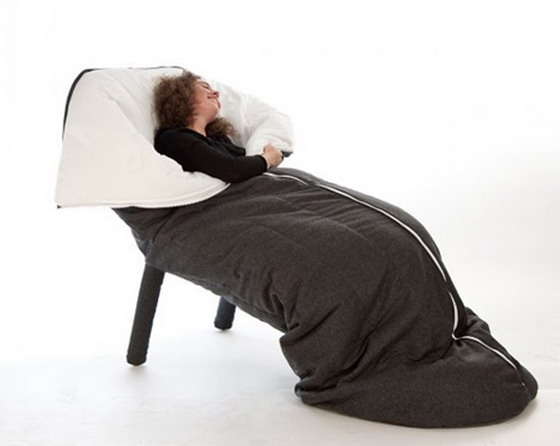 Cool Chair Likes A Sleeping Cocoon