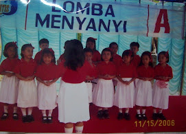 Team Lomba Menyanyi TK Baptis