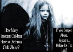 Cuantos Niños inocentes tienen que morir por abuso infantil?