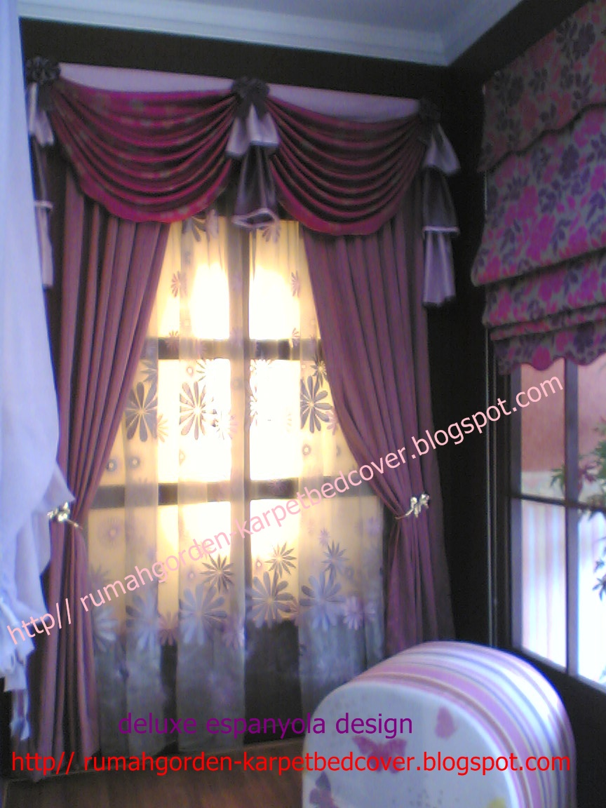 rumah gorden, karpet & bed cover