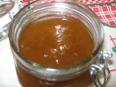 Geleia de abrunho e maçã