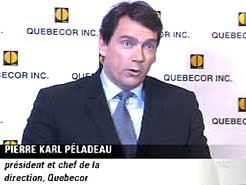 Soon to be bankrupt owner of Quebecor