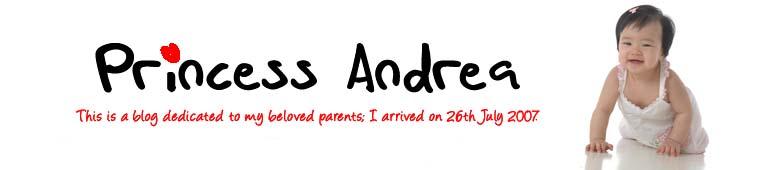 Andrea Ng - Princess to Calvin & Daphne