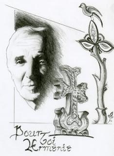 Tableau réalisé pour le concour de l'atelier magique, HOMMAGE