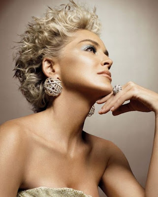 Sharon enthralls Damiani's latest diamond jewelry pictures