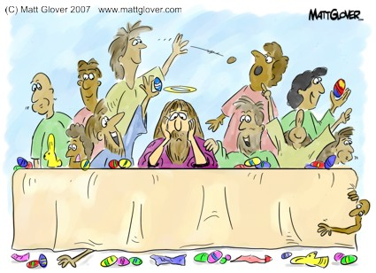 Last Supper/First Easter © Matt Glover 2007