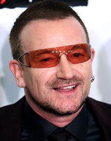 Paul David Hewson aka Bono