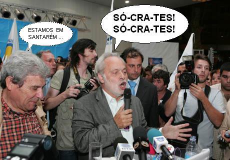 Valentim Loureiro ameaça apoiar José Sócrates