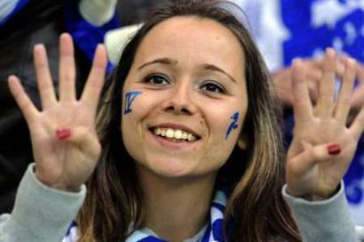 FC Porto Campeão Nacional 2008/2009 (© Reuters/NFactos)