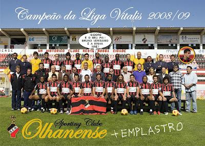 Sporting Clube Olhanense Campeão da Liga Vitalis 2008/09