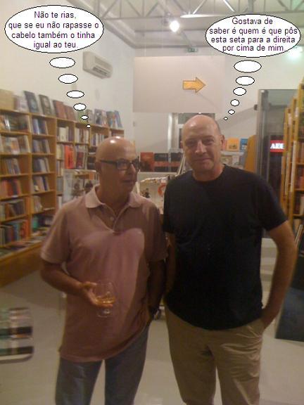António Boronha e Miguel Portas
