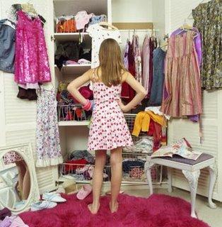 Limpando o closet