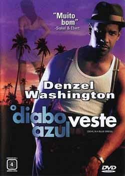 Filme Poster O Diabo Veste Azul DVDRip XviD & RMVB Dublado