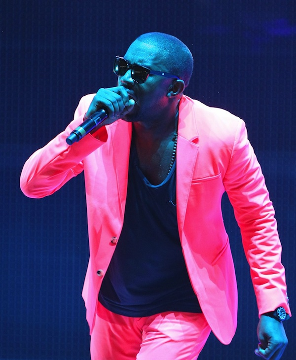 Kanye West Glows in Infrared