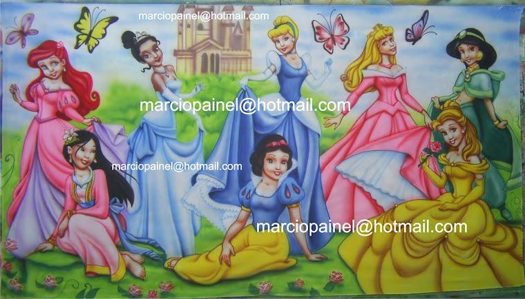 painel princesas disney