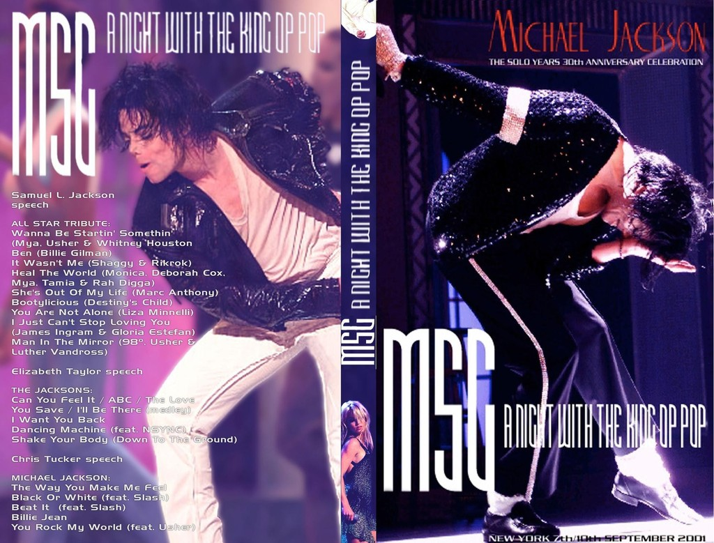 michael jackson 30th anniversary special The michael jackson: 30th anniversary celebration was a 2001 new york city revue show by michael jackson it took place on september 7, 2001 and.