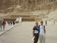 April 2009 met Jesper in Luxor- Egypte