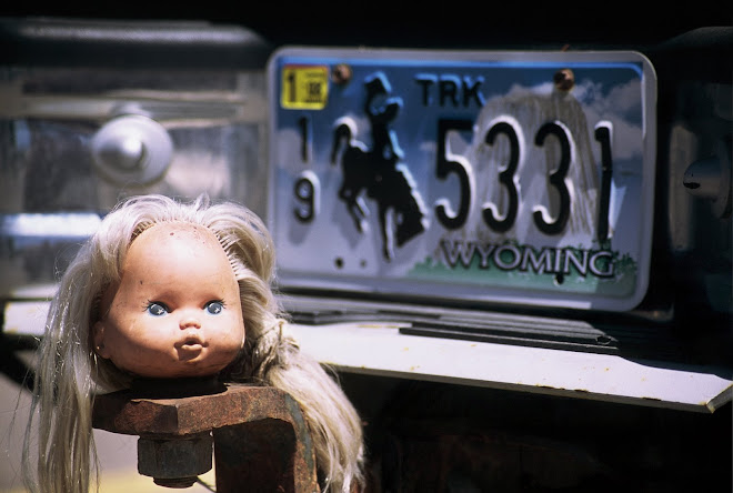 One Doll of a Trailer Hitch Cover: Evanston, Wyoming