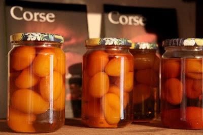 Abricot confiture corse