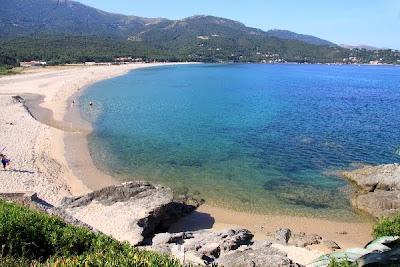 Roccapina - plage en corse