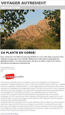 eco tourisme en corse liberation