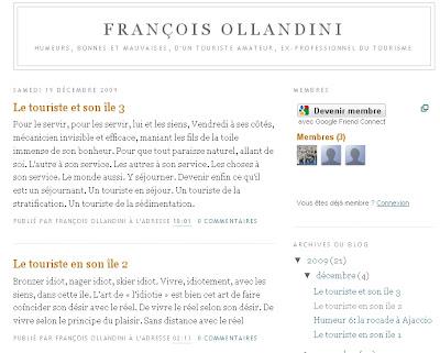 le blog de francois ollandini