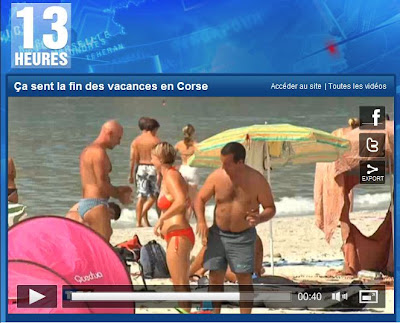 Vacances en Corse sur Tf1