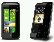 harga HTC HD7 and HTC 7 Mozart