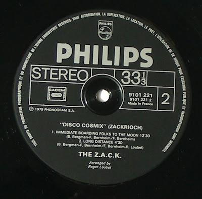The ZACK Disco Cosmix