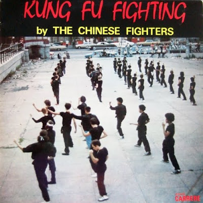 Cover Album of THE CHINEZE FIGHTERS – (1975) KUNG FU FIGHTING
