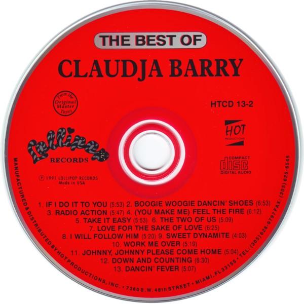 Claudja Barry Work Me Over I Will Follow Him