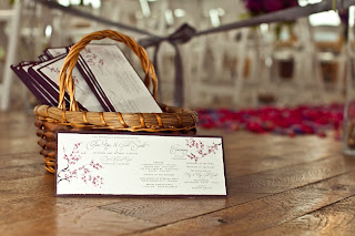 cherry+blossom+wedding+program Colorado Wedding Planner | Devil's Thumb Ranch Wedding
