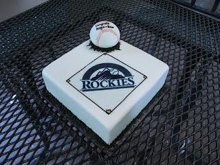 Rockies+Grooms+Cake Unique Grooms Cakes