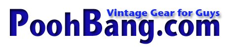 PoohBang - Vintage Gear for Guys