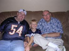 Boys and Grandpa K watch BYU football