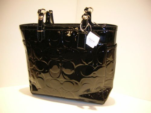Coach 15245 Gallery Patent Leather Embossed