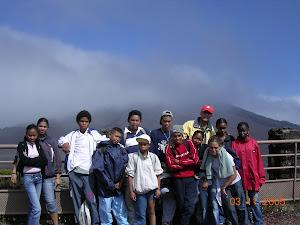 Visita al volcán de la Isla de la Reunión